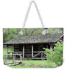 Lil Cabin Home On The Hill  Weekender Tote Bag
