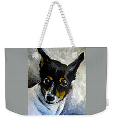 Lil Rat Terrier Weekender Tote Bag