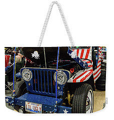 Weekender Tote Bag featuring the photograph Lil Ugly by Randy Scherkenbach