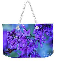 Lilac Blues Weekender Tote Bag