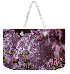 Lilac Bouquet IIi Weekender Tote Bag