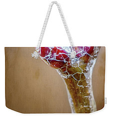 Lilac Buds On Ice Weekender Tote Bag
