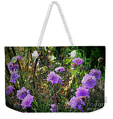 Lilac Carved Jellytot Weekender Tote Bag