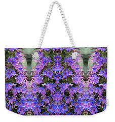 Lilac Design  Weekender Tote Bag by Nora Boghossian