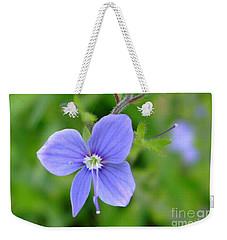 Lilac Flower Weekender Tote Bag