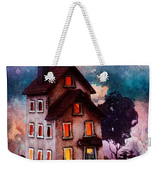 Lilac Hill Weekender Tote Bag by Mo T
