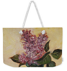 Lilac Reflections Weekender Tote Bag