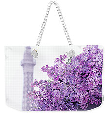 Lilac Tales Weekender Tote Bag by Iryna Goodall
