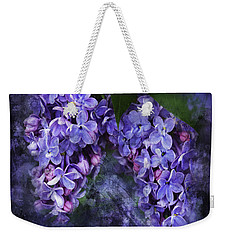 Lilacs Frenchy Scruff Weekender Tote Bag