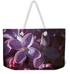 Lilacs II Weekender Tote Bag by Tamara Becker