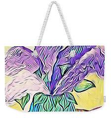 Lilacs Weekender Tote Bag