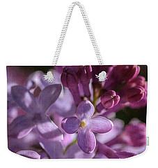 Lilacs Weekender Tote Bag by Tamara Becker