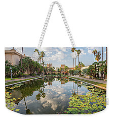 Lilies And Clouds Weekender Tote Bag
