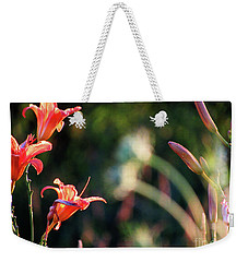 Lilies Bloom In The Forest Weekender Tote Bag