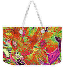 Lilies Duo 50  Weekender Tote Bag