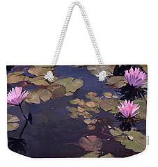 Lilies II - Water Lilies Weekender Tote Bag