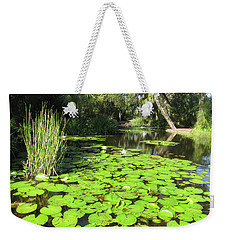 Lilies Of Bok Gardens Weekender Tote Bag