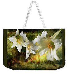 Lilies With Light Weekender Tote Bag