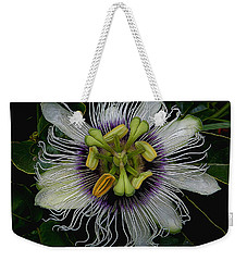 Lilikoi Passion Fruit Weekender Tote Bag by Pamela Walton