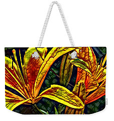Lilly Fire Weekender Tote Bag
