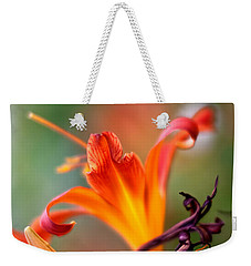 Lilly Flowers Weekender Tote Bag