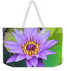 Lilly In Purple  Weekender Tote Bag