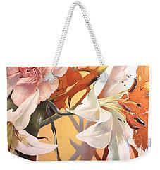 Lilly Melange Weekender Tote Bag