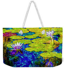 Weekender Tote Bag featuring the photograph Lilly by Paul Wear