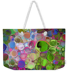 Lilly Pond Weekender Tote Bag by Loxi Sibley