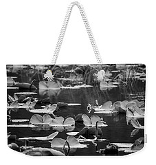 Lilly Pond  Weekender Tote Bag