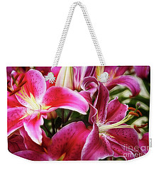Lily At Dusk Weekender Tote Bag
