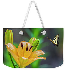 Lily Drops 2 Weekender Tote Bag