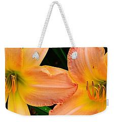 Lily Duo Weekender Tote Bag