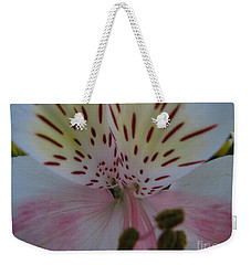 Weekender Tote Bag featuring the photograph Lily by Greg Patzer