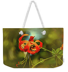 Weekender Tote Bag featuring the photograph Lily #h8 by Leif Sohlman