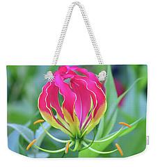 Lily In Flames Weekender Tote Bag