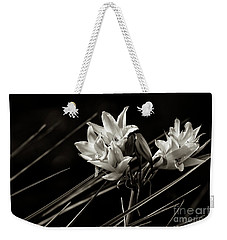 Lily In Monochrome Weekender Tote Bag