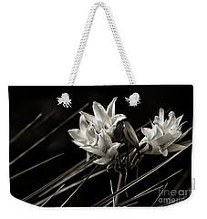 Lily In Monochrome Weekender Tote Bag by Nicholas Burningham