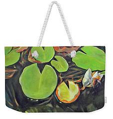 Lily In The Water Weekender Tote Bag