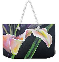 Lily Weekender Tote Bag by Jodie Marie Anne Richardson Traugott          aka jm-ART