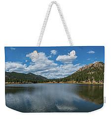 Lily Lake Panorama  Weekender Tote Bag