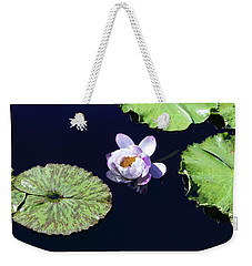 Weekender Tote Bag featuring the photograph Lily Love II by Suzanne Gaff