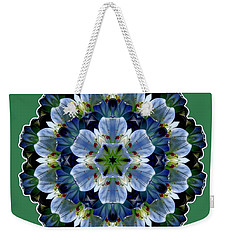 Lily Medallion Weekender Tote Bag