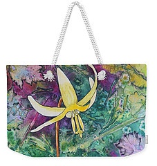 Lily Weekender Tote Bag by Nancy Jolley