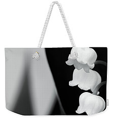 Lily Of The Valley Abstract Weekender Tote Bag by Wim Lanclus