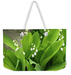 Weekender Tote Bag featuring the photograph Lily Of The Valley by Cristina Stefan
