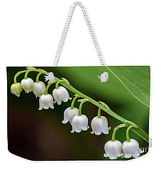 Lily Of The Valley II Weekender Tote Bag