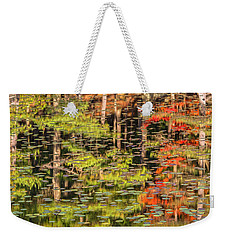Lily Pad Abstract II Weekender Tote Bag