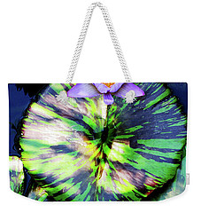Lily Pad And Lily Weekender Tote Bag