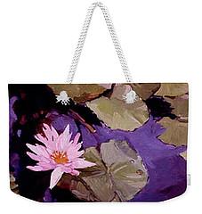 Lily Pad Weekender Tote Bag